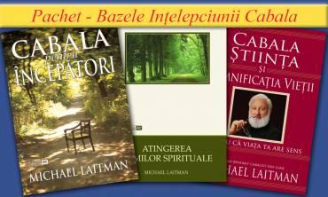 Pachet – Bazele Înțelepciunii Cabala
